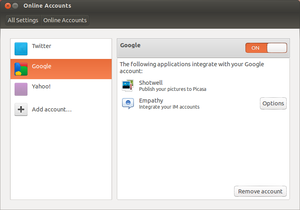 Accounts & SSO as used by Ubuntu