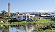 The University of California at Santa Barbara University Center and Lagoon