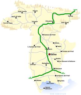Udine provincie wikipedia for Arredamenti udine e provincia