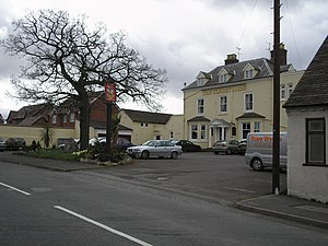 Uffington, Shropshire - The Corbet Arms in Uffington.