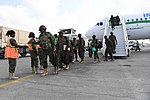 Ugandan troops arrive at Mogadishu Airport on Int'Air Îles Airbus A320 (ZS-GAS) (1).jpg