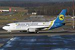 Ukraine International Airlines - UIA Boeing 737-36N UR-GAN (21244770113).jpg
