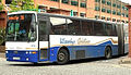 Ulsterbus articulated coach 3110 Volvo B10MA Van Hool DAZ 3000 Glengall Street Bus Station Belfast, Northern Ireland 22 May 2009 crop 1.jpg