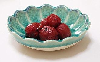 Umeboshi - Umezuke (not dried)