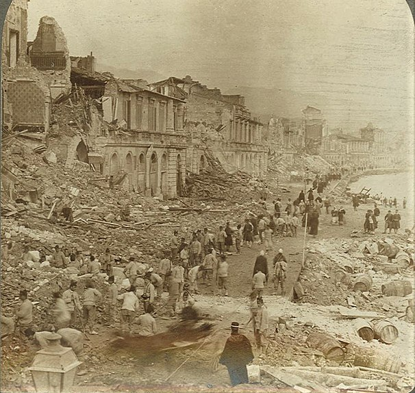 File:Underwood & Underwood © 1906 No. 10495 - Messina - The once beautiful Water-front after the earthquake dett.jpg