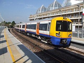 railway in inner West London, England