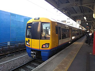 Barking station - London Overground Class 378