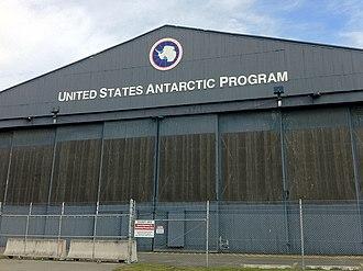 United States Antarctic Program - USAP hangar at Christchurch International Airport, Christchurch, New Zealand