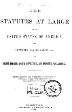 United States Statutes at Large Volume 25.djvu