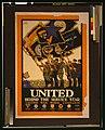 United behind the service star, United War Work Campaign LCCN2002699394.jpg