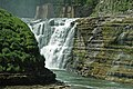 Upper Falls (Genesee Gorge, Letchworth State Park, New York State, USA) 1 (19504796184).jpg