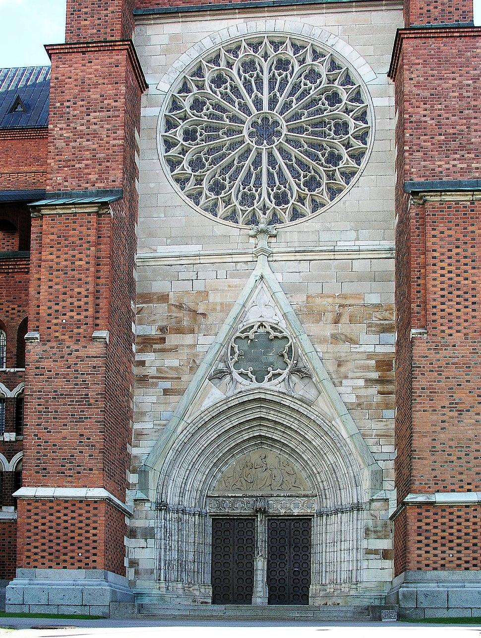 Uppsala domkyrka portal02