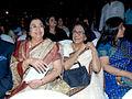 Usha Mangeshkar and Meena Khadikar.jpg