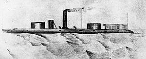 Uss Winnebago 1863