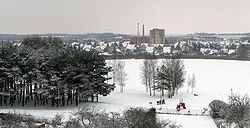 Skyline of Utena, Lithuania