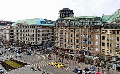 Jak do Václavské Náměstí hromadnou dopravou - O místě