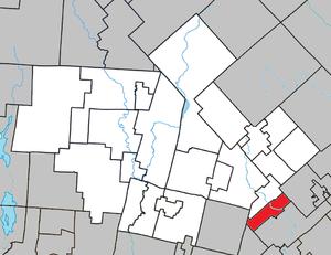 Val-Morin, Quebec - Image: Val Morin Quebec location diagram