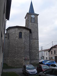 The church of Valencin