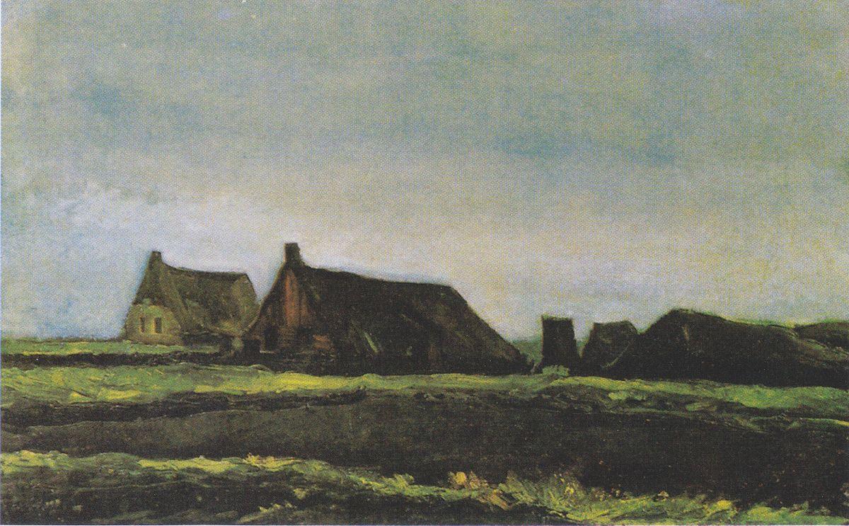 Cottages Van Gogh Series Wikipedia