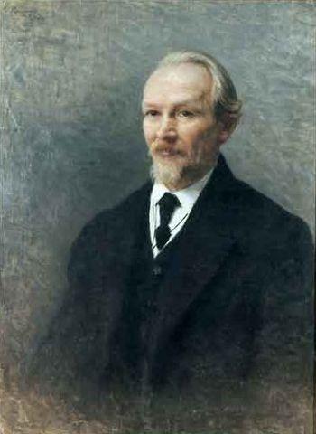 Портрет работы И.К.Пархоменко. 1909 год