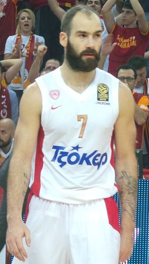 Greek Basket League - Vassilis Spanoulis, 7× Greek League Champion, 3x Greek League MVP, and 3x Greek League Finals MVP.