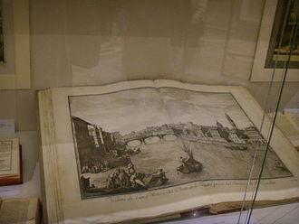 Giuseppe Zocchi - Original edition of Vedute di Firenze, Biblioteca Nazionale Centrale di Firenze
