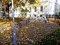 Velostāvvieta Rīgas 2. ģimnāzijā. Veloparking ar 2nd gimnasium. October, 2013 - panoramio.jpg