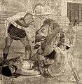 Venatio, Gladiator and Lion in the Colosseum.jpg
