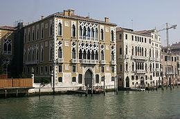 Venice - Palace Cavalli-Franchetti 02
