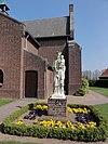 venray blitterswijck, rijksmonument 28433, o.l.v. geboortekerk buitenbeeld maria koningin met kind