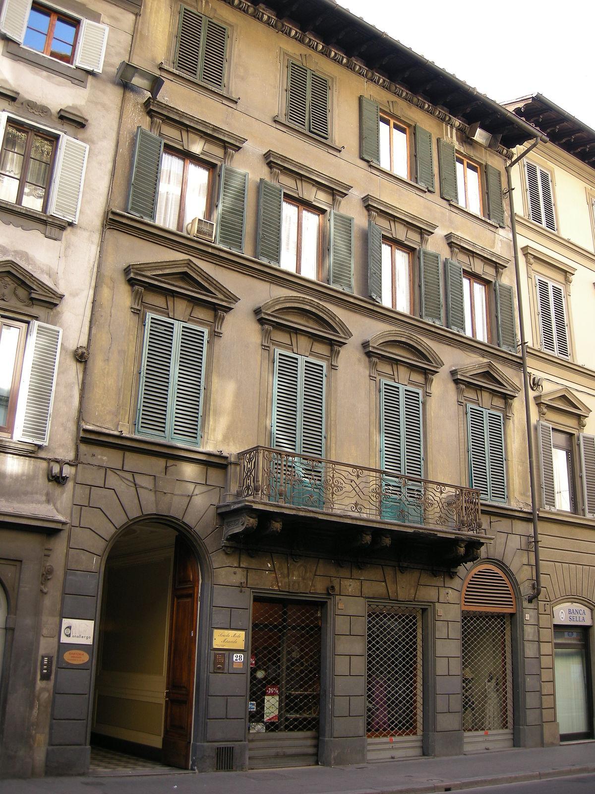 Casa di giovanni spadolini wikipedia for 2 piani di casa contemporanea di storia