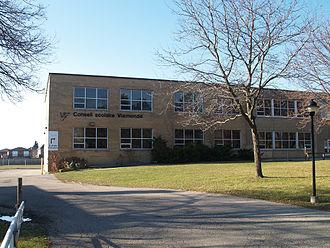 Conseil scolaire Viamonde - Educational management offices for Conseil scolaire Viamonde, in Toronto.