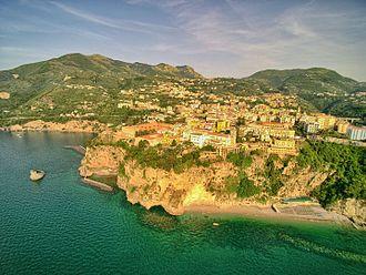 Vico Equense -  View from the sea.