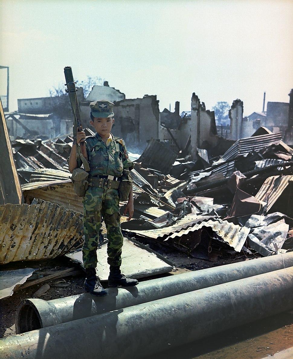 Vietnam child soldier
