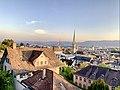 View of Central Zurich from Polyterrase, ETH Zürich (Ank Kumar) 11.jpg