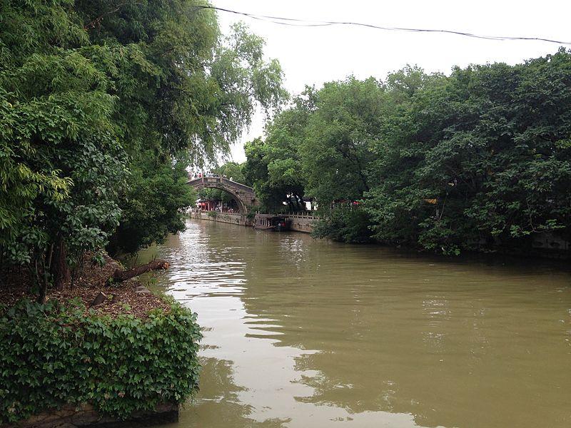 File:View of Jiangcunqiao Bridge from Yizhiyuan Garden.JPG