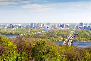 View to Kiev