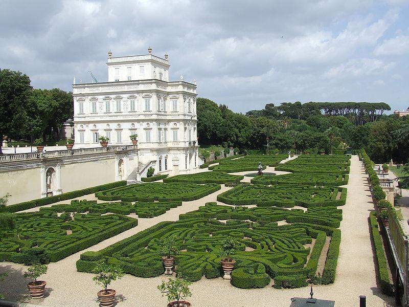 Jardin à Rome : Villa Villa Doria Pamphili - Photo de Pimpinellus.