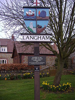Langham, Norfolk Human settlement in England