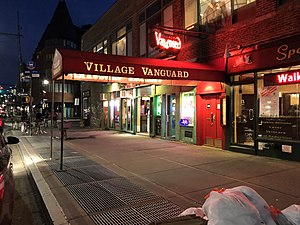 Village Vanguard at night 2018