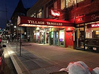 Village Vanguard - The Village Vanguard jazz club in New York City in 2018