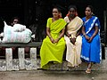 Village Women at a Crossroads - Near Mysore - India.JPG