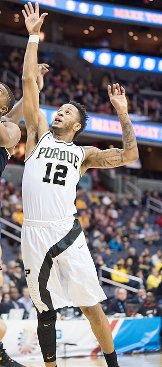 Vincent Edwards (basketball) - Edwards playing for Purdue