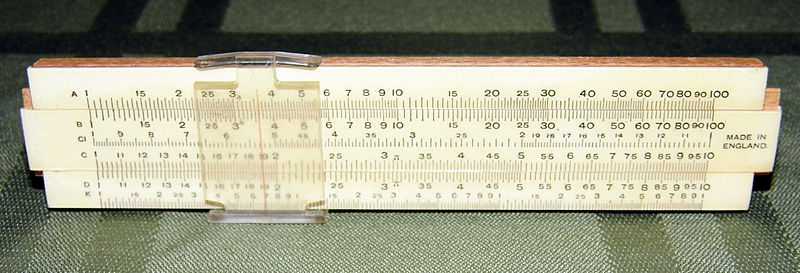 File:Vintage Small Slide Rule, 4.75 Inches in Length, Made in England (9610232930).jpg