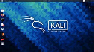 Kali Linux Debian-based Linux distribution for penetration testing