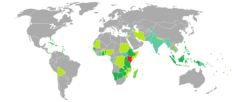 Kenyan passport - Image: Visa requirements for Kenyan citizens