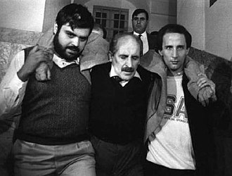 Vito Ciancimino - Ciancimino arrested by the police (1984)