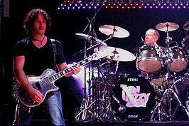 Vivian Campbell & Brian Downey met Thin Lizzy
