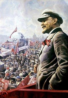 Vladimir Lenin 1 May 1920 by Isaak Brodsky