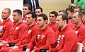 Vladimir Putin meets with Russian sportsmen – participants of the XXIII Olympic winter games 02.jpg